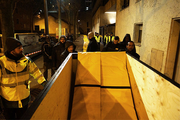 защита от наводнений в Париже
