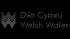 protection inondation logo de Welsh Water