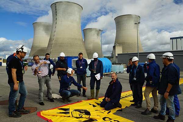 Обучение EDF по защите от наводнений