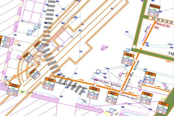 сеть водопроводных сетей austerlitz