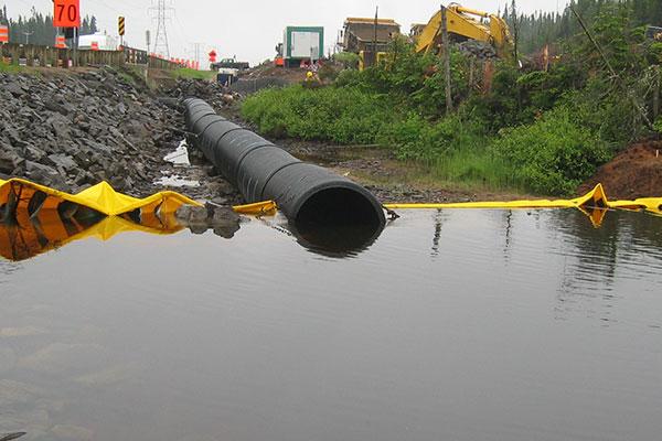 коффердамы и канализация реки