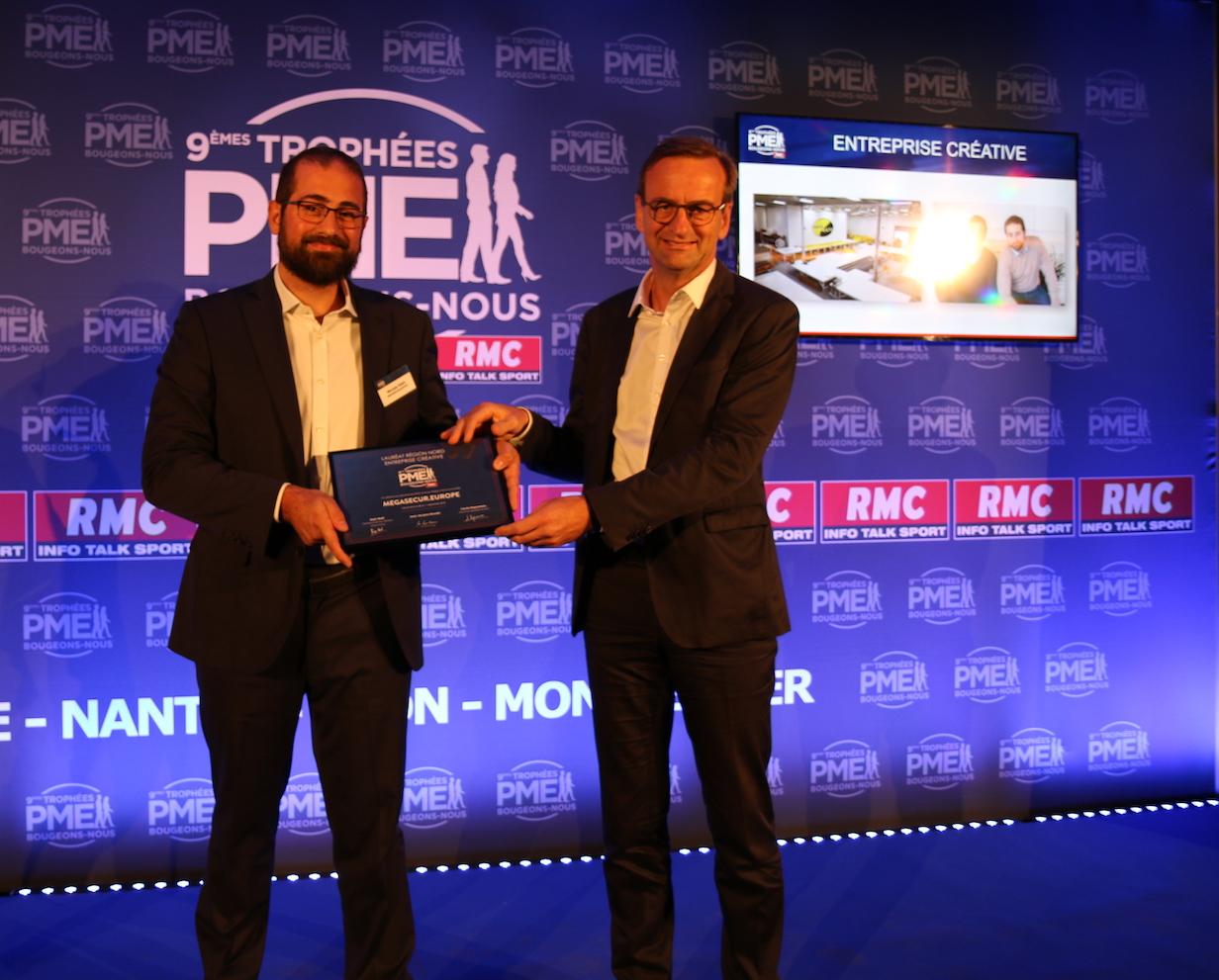 Nicolas Klein Nicolas COO MegaSecur et Jean-Pierre Viboud - Directeur Général - Oney Bank