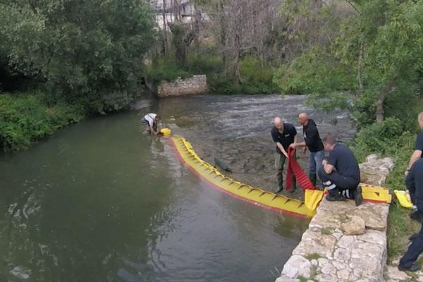 Как высушить речной порог за 3 минуты! Модель WL-06 со встроенным балластом.
