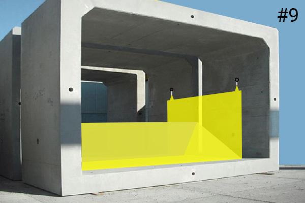 Гибкие коффердамы Water-Gate ©. Схема установки в бетонной водопропускной трубе | Дело # 9